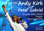 Concert : Andy Kirk sings Peter Gabriel, and many more...